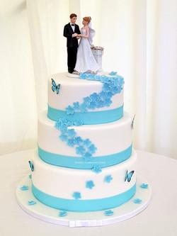 Tracy wedding cake