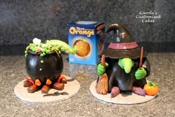 Halloween Chocolate oranges