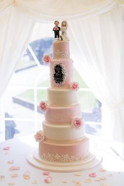 Sophie wedding cake