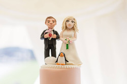 Tom and Sophie cake topper