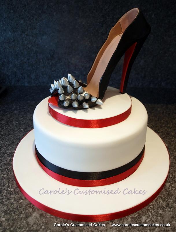 High heel shoe cak