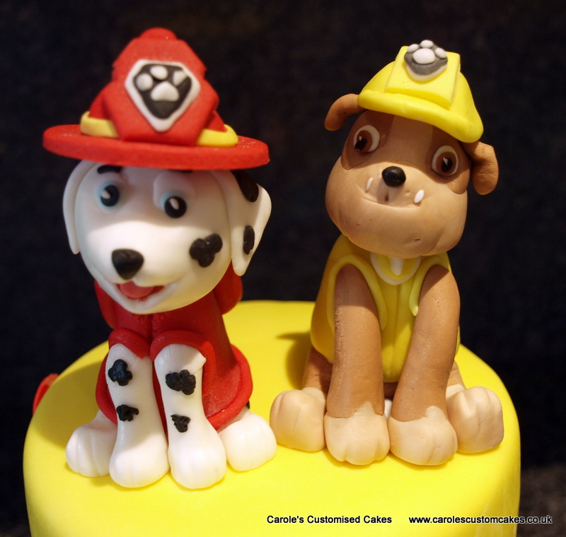 Dog cake toppers