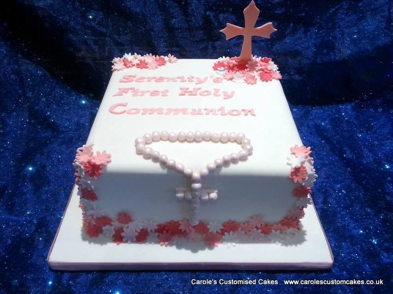 Serenity Christening Cake
