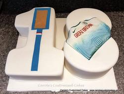 long jump cake