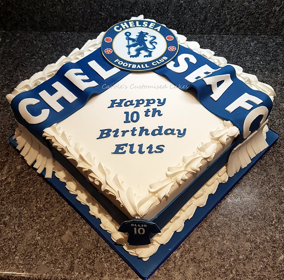 Birthday Cake Greenhithe England Caroles Customised Cakes