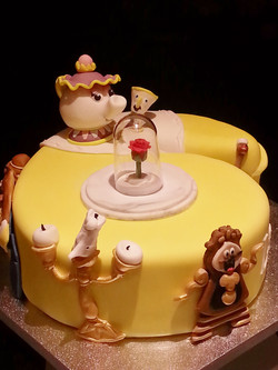 Beauty and the Beast Age cake