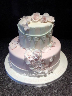 Amelia Christening Cake