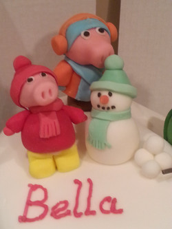 Children's character cake toppers