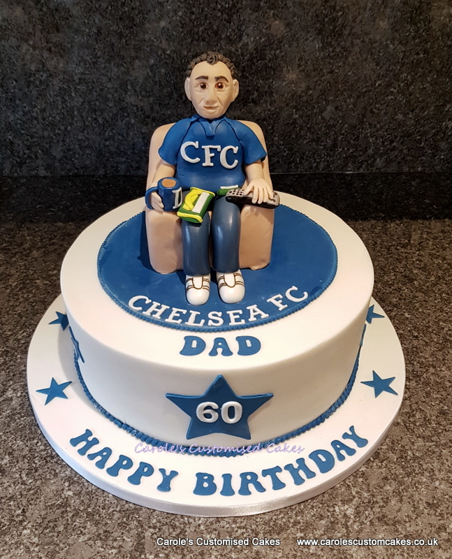 Chelsea Dad cake