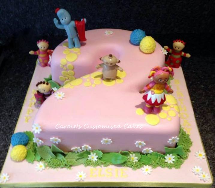 In the Night Garden Number 2 cake
