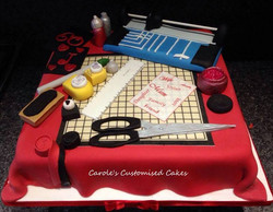 Card makers cake