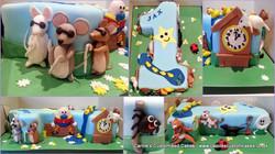 Nursery rhyme number 1 cake