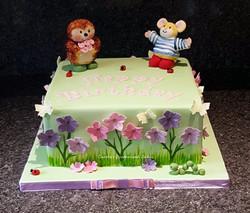 Country Companions cake