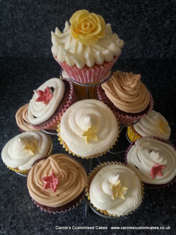 Flavoured cupcakes