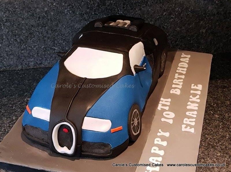 Bugatti cake