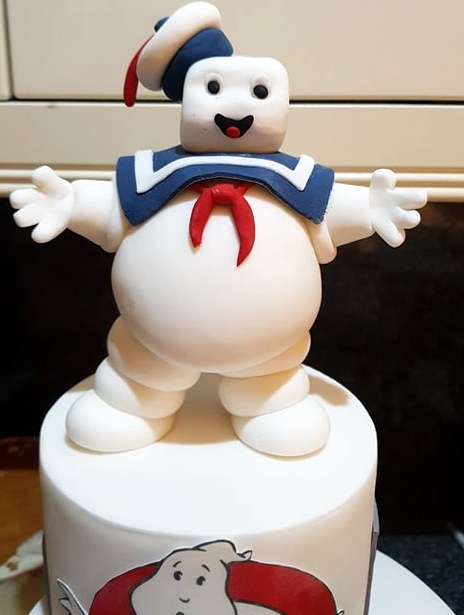 arshmallow Man cake topper