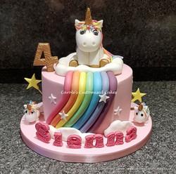 small rainbow unicorn