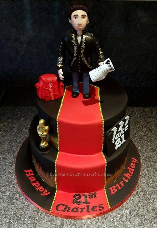 drama oscar cake