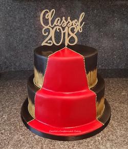 Red carpet cake