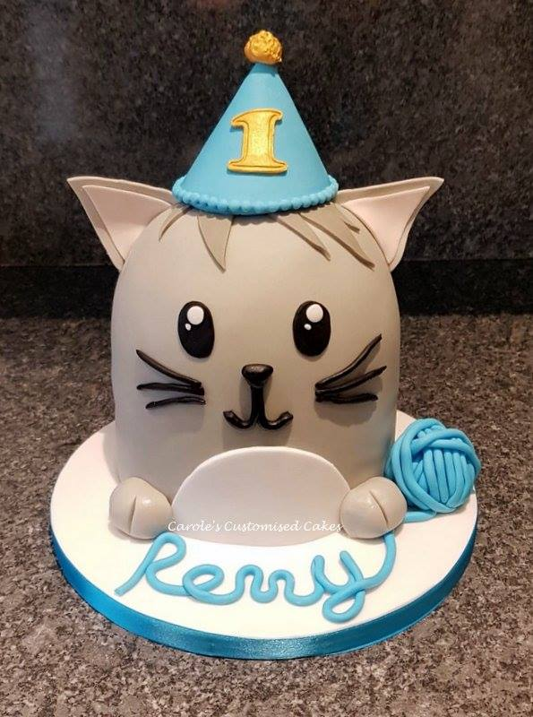 Party cat cake