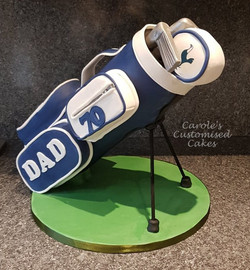 Standing golf bag (1)