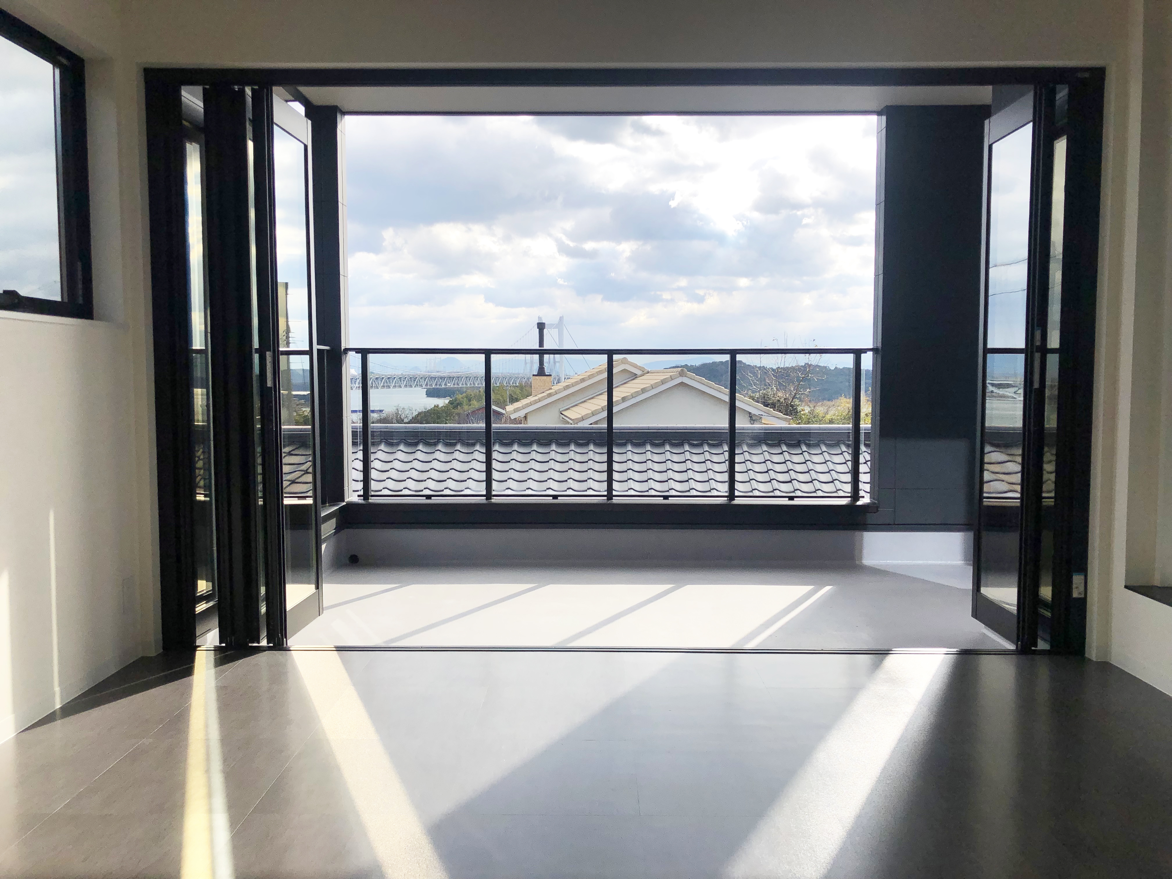 3階リビングからの眺め
