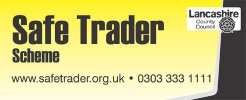 Logo for Lancashire Safe Trader Scheme