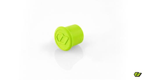 tapón válvula verde