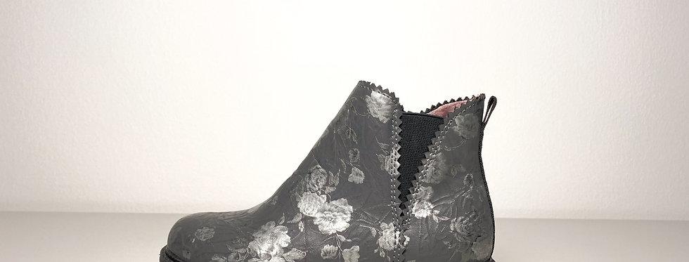 S.Oliver - Mädchen Chelsea Stiefel mit Blumenprint