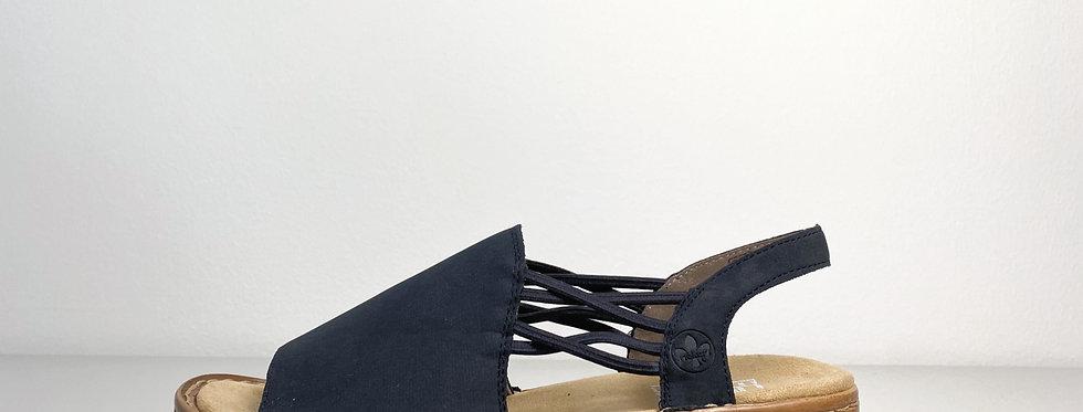 Rieker Sandale mit Gummizügen