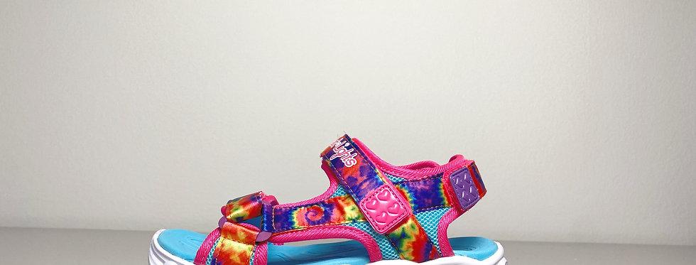 Skechers Sandale mit Klettverschluss