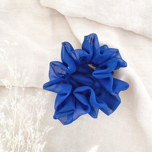 Scrunchie Blu Elettrico