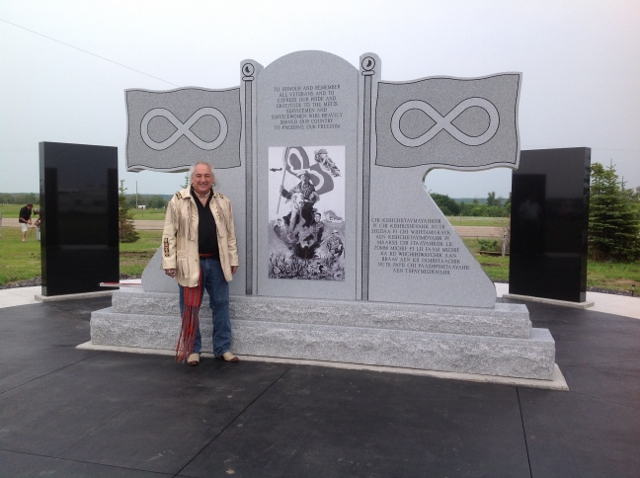 Metis Veterans Memorial Monument