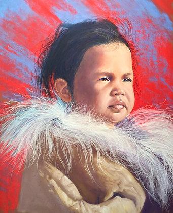 Inuit Girl II