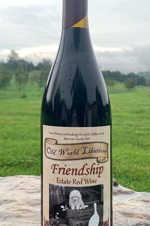 Friendship Red Wine