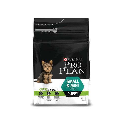 Purina Pro Plan для щенков мелких и карликовых пород, курица-рис