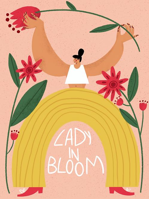 Lady in Bloom