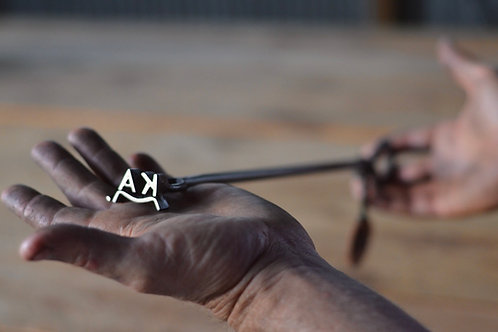 Miniature Cattle Branding Iron
