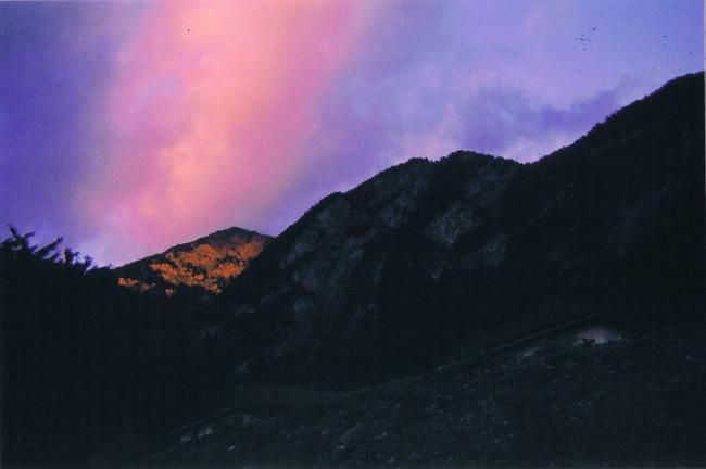 Sunset in Saint Maurice