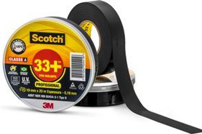 FITA ISOLANTE 20MT SCOTH 33+ 3M