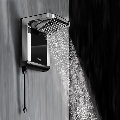CHUVEIRO ACQUA STAR PRETO ULTRA 7800W
