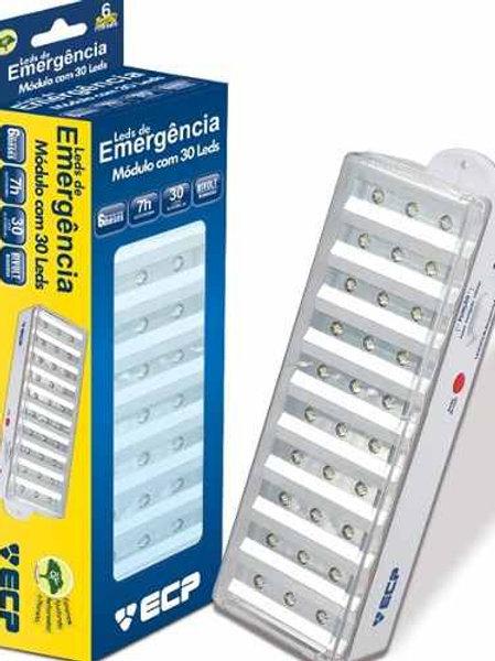 LUMINARIA DE EMERGENCIA 30 LEDS 1,5W