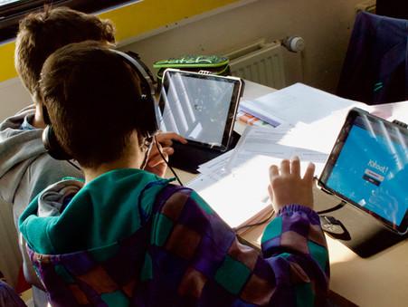 120 iPads für den Unterricht