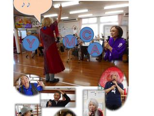 職員による歌謡教室