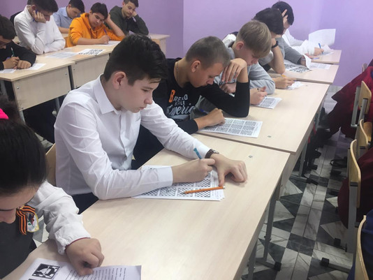 Сегодня в МАОУ СОШ №34, состоялся 2-й тур олимпиады по шахматам.