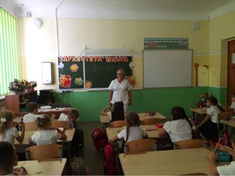 2 сентября 2020 года в гимназии 6 прошли Уроки здоровья с приглашением  врача - педиатра и фельдшера