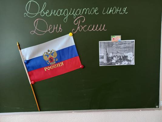 Торжественная Линейка в школьном лагере НЕПОСЕДЫ , посвящённая Дню РОССИИ.