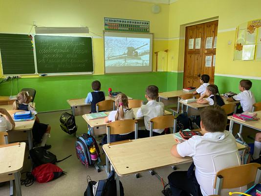 9 октября 2020 года в  МАОУ гимназии №6 были проведены Уроки мужества