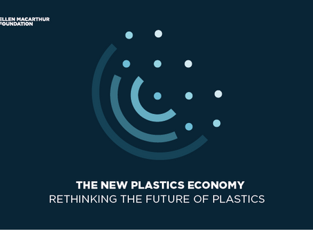 The New Plastics Economy: Rethinking the future of plastics