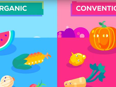 """¿Es """"orgánico"""" realmente mejor? ¿Comida sana o una estafa de moda?"""